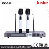 Professionista senza fili del microfono di frequenza ultraelevata di prestazione stabile per karaoke