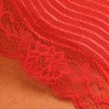 Ткань шнурка королевской сини хорошего качества в белом шнурке Tulle