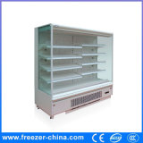 Ce Aprovado Open Front Supermarket Drinks Refrigerated Display Cabinets
