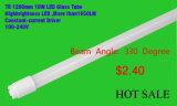 tube de la couverture 18W T8 DEL en verre de 1200mm avec du CE (EGT8F18)