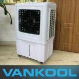 Flux d'air vert 4500m3 / H Ventilateur de refroidissement évaporé mobile
