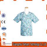 Le coton neuf de type médical frottent l'Anti-Baterial chemise courte uniforme