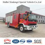 camion dei vigili del fuoco Euro4 della gomma piuma di 6ton Isuzu Dongfeng Foton Sinotruck