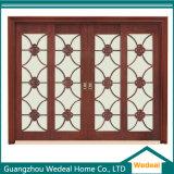 Portes en verre en bois extérieures pour des projets de Chambres