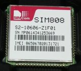 Hot Sale Drive IC Quad-Band Simcom GSM / GPRS Módulo GPS SIM808