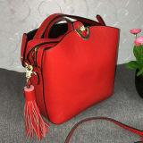 Nuevo bolso de totalizador de las mujeres del cuero de la alta calidad de los bolsos del cuero del estilo Emg4595