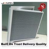 Ventilación de aire HVAC aluminio cubre la rejilla de la caja de huevo de la parrilla de CA