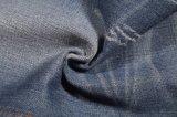 De blauwe van de Katoenen van de Kleur Stof van de Jeans van het Denim Stof van de Polyester