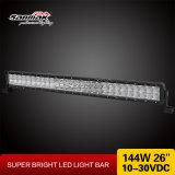 26pouces 144W CREE Light Bar 4X4 Offroad barre LED