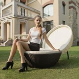 Foshan Chaise en rotin de mobilier de jardin d'empilage Table en verre jeux de jardin (Z297)