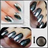 Colorant d'argent de miroir de chrome, poudre de colorant de vernis à ongles de miroir
