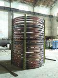 Bobina di induzione dell'asta cilindrica della fornace
