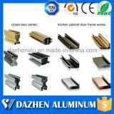 Perfil de alumínio da borda do gabinete de cozinha do fabricante do perfil com anodizado