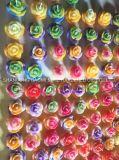 Il fiore ha modellato la candela, candela della cera, candela della decorazione