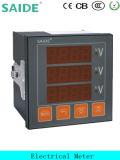 Écran LCD Affichage numérique trois -Phase voltmètre
