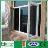 Guichet australien de tissu pour rideaux d'aluminium de Changhaï Pnoc 2017 de certificat de la norme As2047