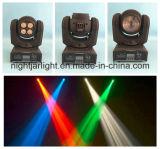 新しい二重表面40W RGBW Sharpyビーム専門の照明洗浄小型LED移動