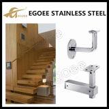 Escalier en fer monté sur le mur en acier inoxydable Support de main courante