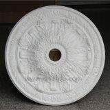 Piastrina decorativa Hn-020 dell'unità di elaborazione di soffitto del ventilatore del medaglione Victorian del poliuretano