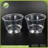 copos plásticos desobstruídos descartáveis da sobremesa 8oz/240ml