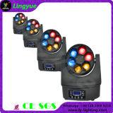 小型6X15W 4in1 LEDの移動ヘッドビーム蜂の目
