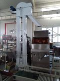 Machine rouge d'ensachage à pesée