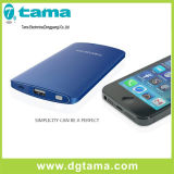 Chargeur en aluminium mince portatif Ultra-Mince Powerbank sec pour des téléphones mobiles