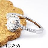 Commercio all'ingrosso d'argento della fabbrica dell'anello dei monili 925 d'imitazione