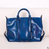 Madame neuve Handbag Simple Ol Style de cuir de cire de pétrole de modèle
