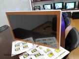 "Fino TV Eled 32"" com vidro temperado Design da Apple"