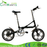 Миниый складной электрический велосипед с рамкой алюминия 16inch