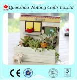 Crisol de flor de encargo de la resina de la decoración del balcón para la venta