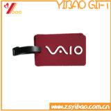 Logo fait sur commande d'étiquette de bagage de PVC de qualité de mode de résistance d'abrasion (YB-HR-70)