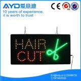 Rectangle Hidly Indoor couper les cheveux signe à LED