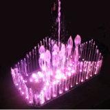 Fontein van het Water van de LEIDENE de Lichte Fontein van de Kleur Veranderlijke Muzikale