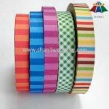 Cinta Jacquard tejido de nylon poliéster de logotipo para bolsas