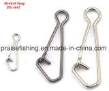 Les accessoires de palan de pêche pêchant les crochets instantanés d'émerillon ont accroché la rupture