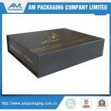 トンコワンのメンズギフトのための包装のカートンのペーパー靴箱のブラックボックス