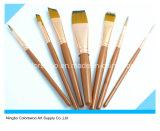 cepillo del artista 7PCS para la pintura y el gráfico