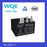 가전 및 산업 사용을위한 소형 PCB 릴레이 파워 릴레이