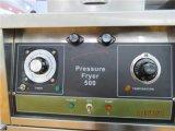 Cnix pfg-500 de Braadpan van de Gasdruk van het Roestvrij staal (Ingebouwde de Filtratie van de Olie)