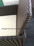 Rattan Garden Mesa de jantar e cadeira Espaço Saving Cube Dining Sets (TG-8061)