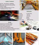 Alliage d'aluminium 6061 6082 6063 7005 7001 tube en aluminium rectangulaire de tube sans joint anodisé par bâti de 7075 bicyclettes