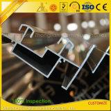 Perfil de aluminio de la protuberancia del aluminio de la aduana 6063 para la fachada