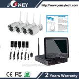 熱い販売960p 2.0MPの無線電信4チャネルの無線機密保護の監視カメラシステムWiFi NVR