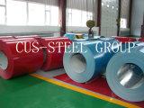 Les plaques principales de roulis en acier de Ral5012 0.47mm PPGL/ont enduit la bobine d'une première couche de peinture en acier d'Aluzinc
