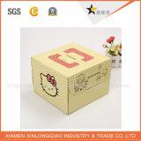 Customzied druckte Kissen-Kasten-Schal-verpackenkasten mit Ihrem Entwurf