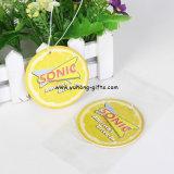 과일 레몬 모양 레몬 향수 종이 공기 청정제 (YH-AF123)