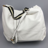 La manera blanca del bolso de la PU de la manera empaqueta a surtidor