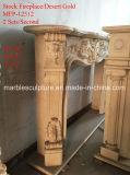 Mensola del camino di marmo bianca del camino di sconto in azione (SY-MFP12312)